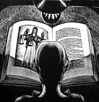reading-woodcut